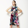 Botanical Abstract Floral (Dress)