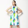 Painted Geo (Dress)