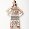 Painted Paisley Stripe (Dress)
