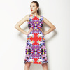 Geometric and Floral (Dress)