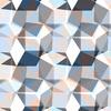 Seamless Irregular Geometric Abstrac Floral Textile (Original)