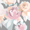 Color Block Floral (Original)