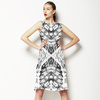 Black and White Reptile (Dress)