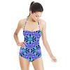 Ethnic Abstract Geometric Pattern 6 (Swimsuit)