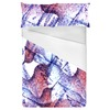 Watercolor Hummingbirds Seamless Pattern (Bed)