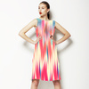 Motion Blur Coral Brushstrokes (Dress)