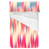 Motion Blur Coral Brushstrokes (Bed)