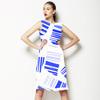 Ripped Paper Stripes Seamless Pattern (Dress)