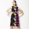 Happy Floral Stripe (Dress)