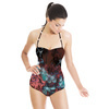 Zig Zag & Flowers (Swimsuit)