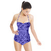 Blue Geometry (Swimsuit)