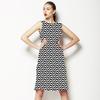 New Wave, Black/White (Dress)