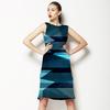591 Geo Texture Check (Dress)