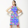Hibiscus Abstract Pattern (Dress)