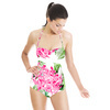 Tropical Floral Repeat Digital Print (Swimsuit)