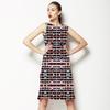 Digital Mosaic Geometric Pattern (Dress)