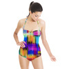 Multicolored Graphic Pattern (Swimsuit)