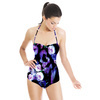 Thrilling Florals No2 NON Repeat Pattern (Swimsuit)