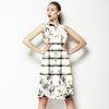 584 Marble Floral Print (Dress)