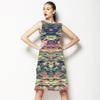Multicolour Texture (Dress)