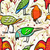 Colourful Birds (Original)
