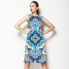 Blue Tile Gold (Dress)