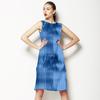 Blue Ice Textured Pattern (Dress)