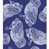 Hand Drawn Geometric Animal Illustration Owl (Original)