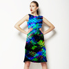Abstract Tropical Leaves (Dress)