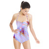 Abstract Floral Net (Swimsuit)