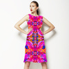 Tropical Floral and Plants No5 Repeat Tropical Floral Pattern by Dawid Roc (Dress)
