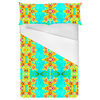 Tropical Floral and Plants No8 Repeat Tropical Floral Pattern by Dawid Roc (Bed)