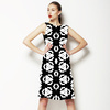 Black and White Geo Surface (Dress)