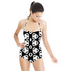 Black and White Geo Surface (Swimsuit)