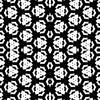 Black and White Geo Surface (Original)