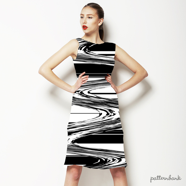 Graphic Swirl Stripe