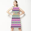 Tribal Ikat Stripe (Dress)