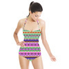 Tribal Ikat Stripe (Swimsuit)