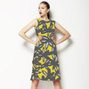 Graphic Fall Floral (Dress)