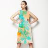 568 Fresh Floral Print (Dress)