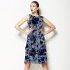 560 Floral Shibori Print (Dress)