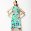 Ditsy Floral Vector Repeat Print (Dress)