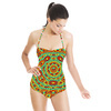 Discrete State Multi-Scale Turing Pattern Number Two (Swimsuit)
