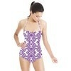 Mix Medallion Pattern Print for Womenswear, Home Textile in Repeat. Medallion 3DDS05. (Swimsuit)