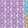 Mix Medallion Pattern Print for Womenswear, Home Textile in Repeat. Medallion 3DDS05. (Original)