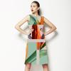 556 Tropic Plant Collage (Dress)