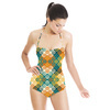 Curly Connected or Disconnected Harmony (Swimsuit)