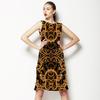 Baroque Golden Frames Black (Dress)