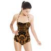 Baroque Golden Frames Black (Swimsuit)