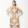 Baroque Golden Vine Frames (Dress)